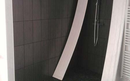 Rénovation d'une salle de bains sur Sillans