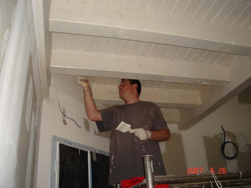 Travaux de peinture de plafond sur voiron a demeure for Peindre sur lasure