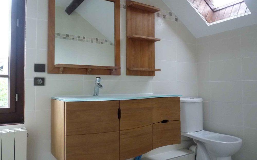 Rénovation d'une salle de bain à Moirans