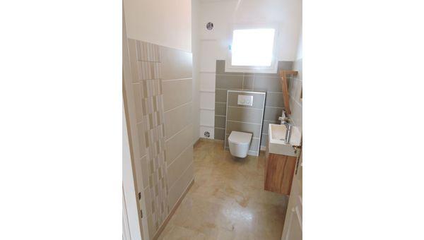 Rénovation de toilettes sur Rives