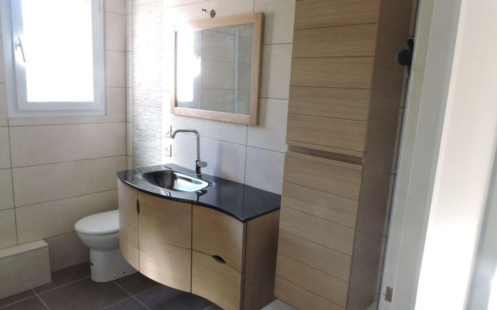 Rénovation d'une salle de bain à Voiron
