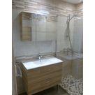 meuble à tiroirs + armoire de toilette