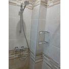 mitigeur de douche + porte savon
