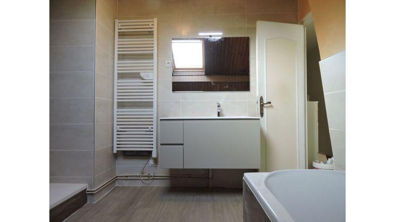Aménagement d'une salle de bain à Tullins
